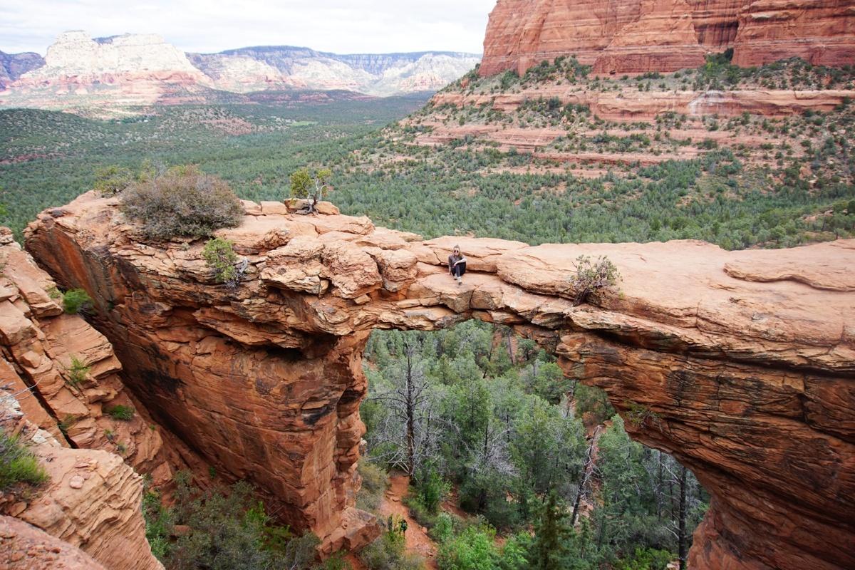 Sedona Devil's Bridge Trail