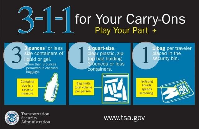 TSA liquids