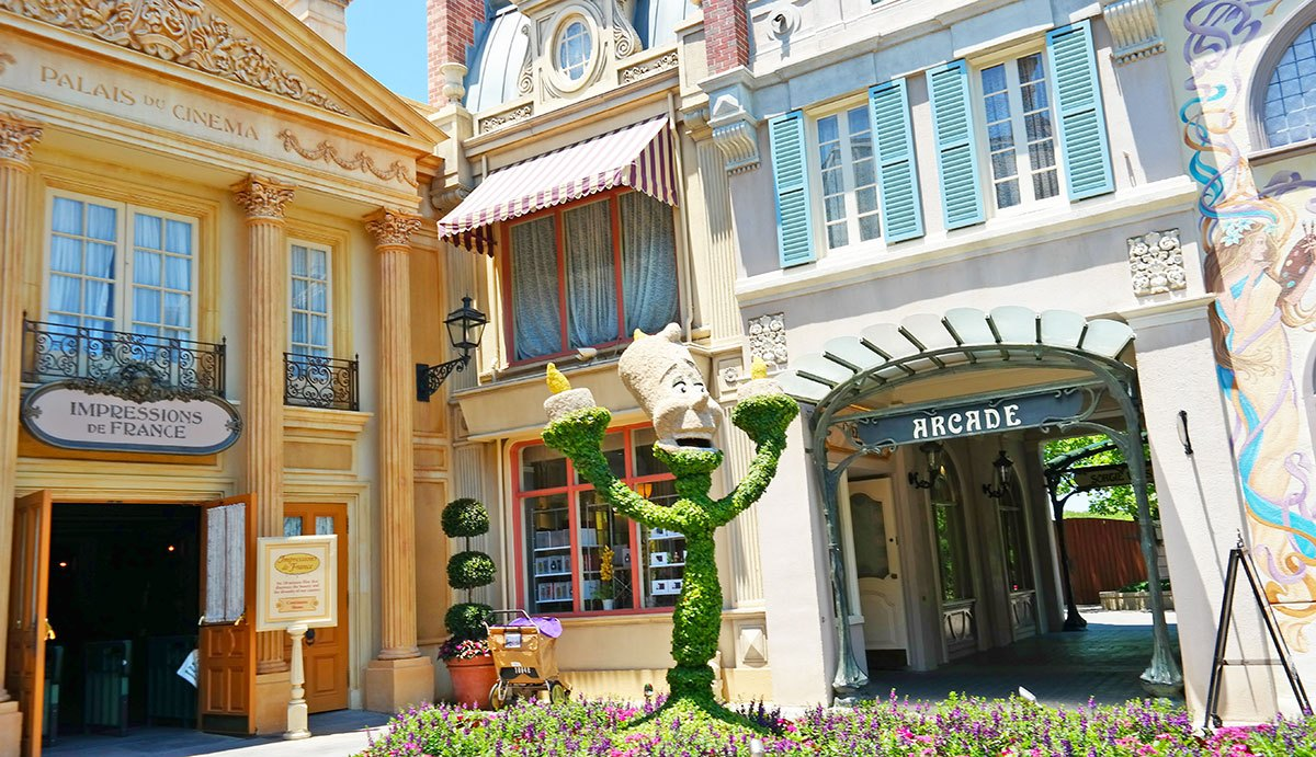 Epcot's world showcase: France