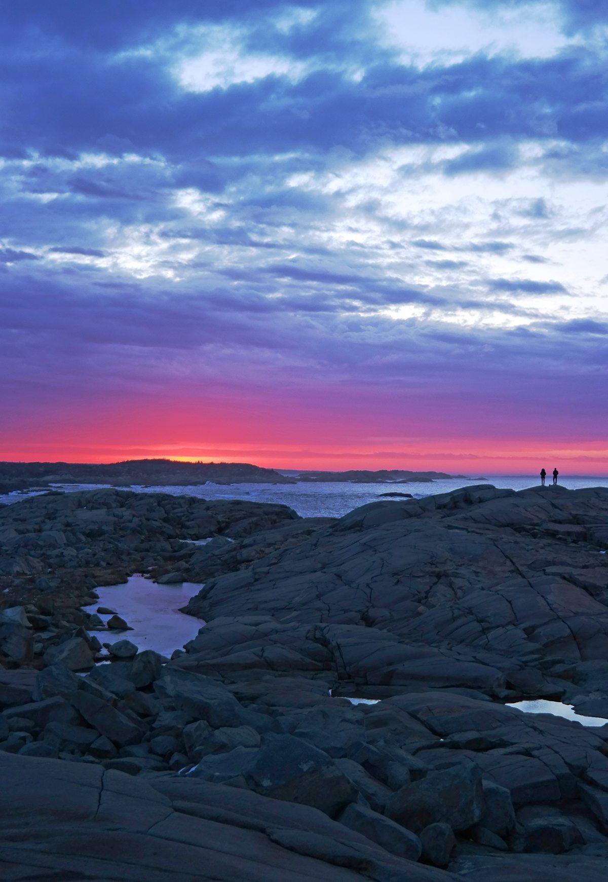 Peggy's Cove sunrise