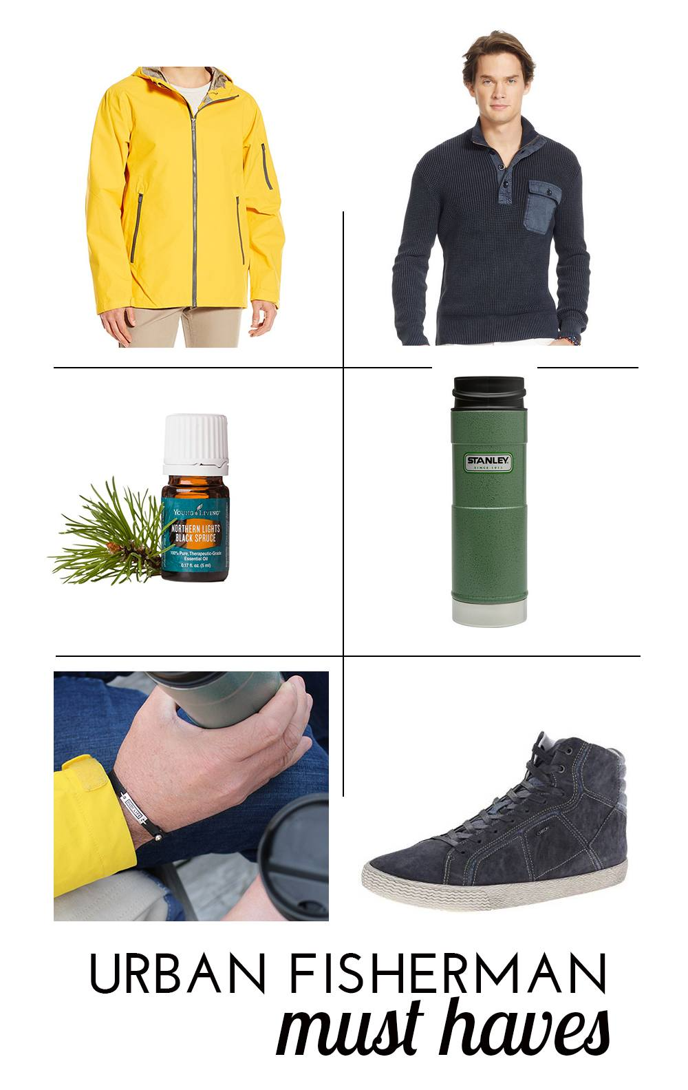 Urban Fisherman trend: must haves to complete the look