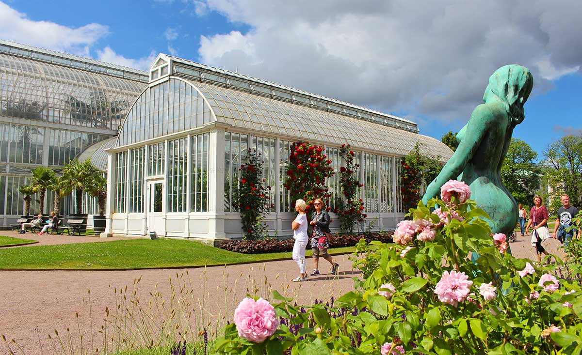 Everyone loves the Palmhouse in the Gothenburg Garden Society.